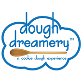 Dough Dreamery Logo - cookie dough experience