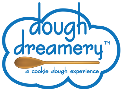 Dough Dreamery Logo a cookie dough experience